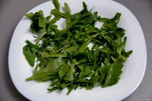 Итальянский салат с вялеными помидорами - фото шаг 3