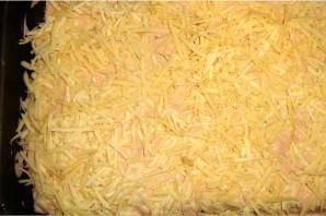 Вафельные коржи с начинкой из фарша - фото шаг 4