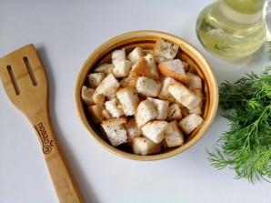 Салат из куриной грудки с сухариками - фото шаг 5