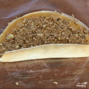 Блинчики с мясом и грибами - фото шаг 14