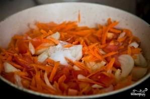 Рыба с овощами под маринадом - фото шаг 5