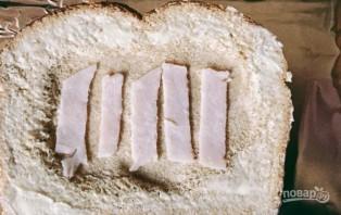 Яичница с хлебом (в духовке) - фото шаг 3