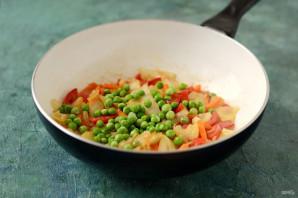 Овощное рагу с лисичками - фото шаг 7