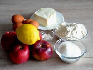 Польский пирог с яблоками и безе - фото шаг 1