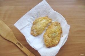 Куриное филе в белковом кляре - фото шаг 10