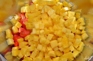 Сальса из ананаса и папайи - фото шаг 2