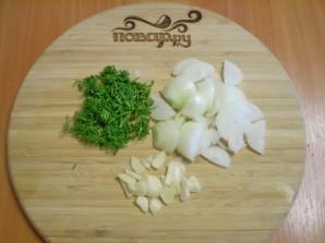 Картошка в кефире в духовке - фото шаг 2