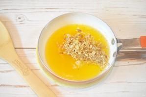 Тыква, запеченная с медом и орехами - фото шаг 5