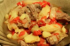 Рагу из говядины с картофелем   - фото шаг 5