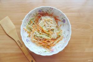Китайский салат с крахмальной лапшой - фото шаг 10