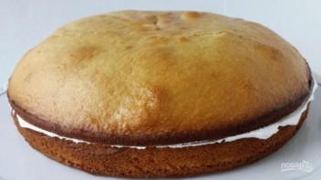 """Бисквитный торт """"Графские развалины"""" - фото шаг 15"""