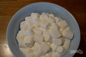 Творожный чизкейк с маршмеллоу  - фото шаг 6