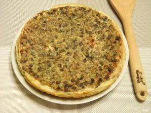 Пирог с гречкой и печенью - фото шаг 10