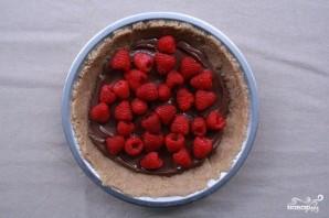Быстрый пирог с малиной - фото шаг 4