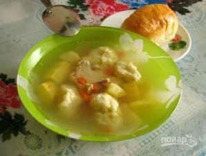 Суп с клёцками - фото шаг 8