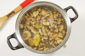 Овсяный суп с грибами - фото шаг 4