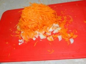 Мясная сковорода с рисом и кабачками - фото шаг 2