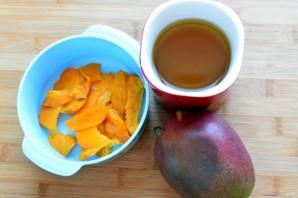 Тыквенный суп-пюре с манго - фото шаг 2
