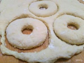 Ванильные пончики на сметане - фото шаг 5