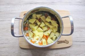 Суп из тыквы с беконом - фото шаг 4