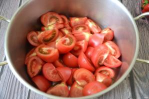 Кетчуп из помидоров и яблок на зиму - фото шаг 2