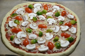 "Пицца ""Примавера"" - фото шаг 13"