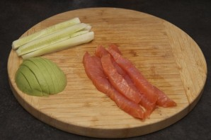Суши с сыром - фото шаг 2