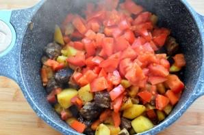 Жареный суп с овощами и чечевицей - фото шаг 4