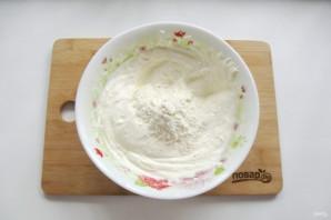 Творожная запеканка со шпинатом - фото шаг 6