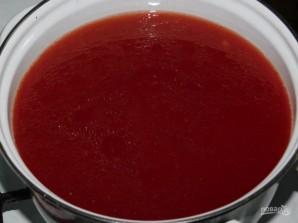 Помидоры в томатной пасте на зиму - фото шаг 4