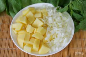 Суп с крапивой и шпинатом - фото шаг 3