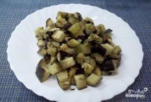 Жареные грибы с баклажанами - фото шаг 2