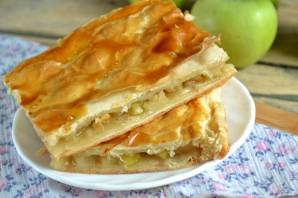 Простой яблочный пирог - фото шаг 8