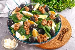 Салат с тунцом и маслинами - фото шаг 5
