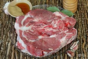 Свинина в медово-горчичном соусе в духовке - фото шаг 1
