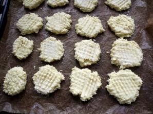 Рассыпчатое кокосовое печенье на кукурузной муке - фото шаг 4