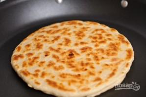 """Простой рецепт """"Хачапури"""" с сыром - фото шаг 8"""