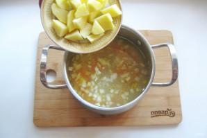Грибной суп с молоком - фото шаг 5