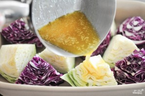 Запеченная белокочанная капуста - фото шаг 2