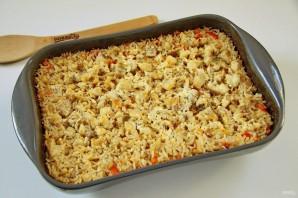 Минтай с рисом в духовке - фото шаг 11