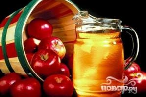 Яблочный квас - фото шаг 1