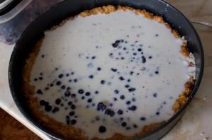 Черничный пирог-желе - фото шаг 5