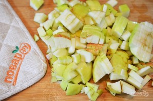 Карамельно-яблочный пудинг - фото шаг 1