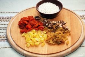 Постная рисовая каша с сухофруктами - фото шаг 1