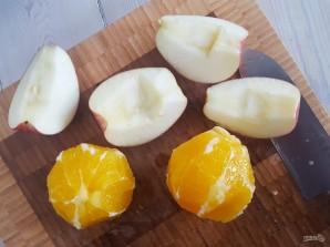 Салат с капустой и яблоком - фото шаг 1