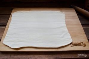 Запеченные булочки с ветчиной и сыром - фото шаг 2