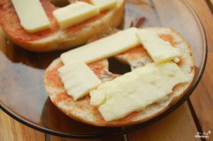 Пицца на батоне - фото шаг 2