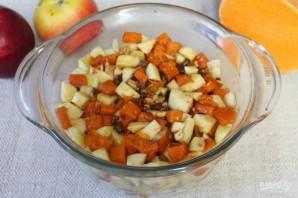 Пряный пудинг из тыквы и яблок - фото шаг 11