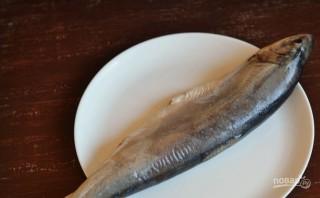 Рыба голец в духовке - фото шаг 1