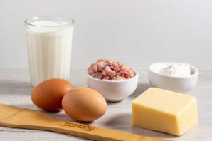 Куриные оладьи с сыром на кефире - фото шаг 1